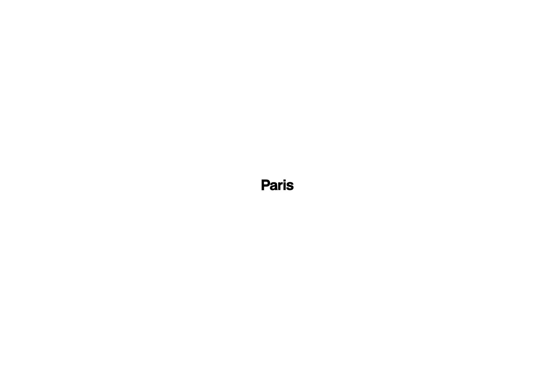 Sticker Paris for gas tank