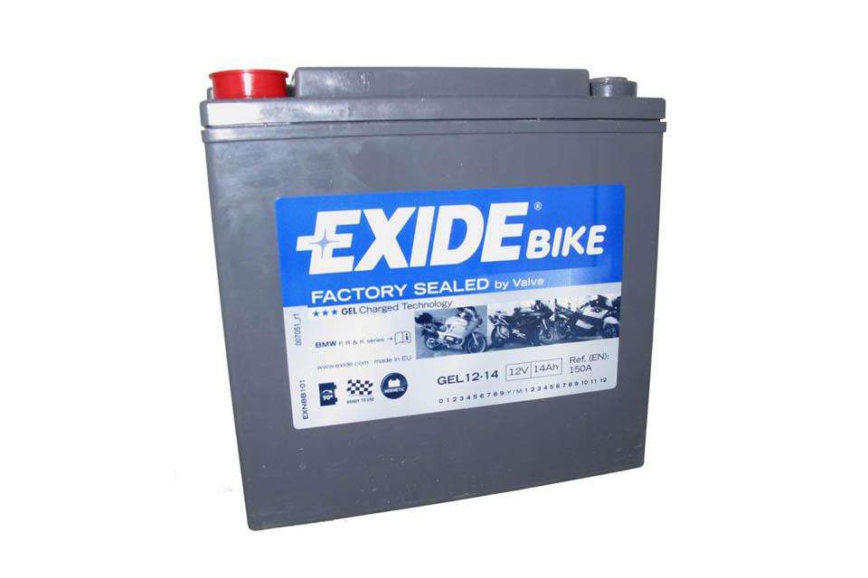 exide gel battery 12v 14ah 6121153 c600 sport 6121153. Black Bedroom Furniture Sets. Home Design Ideas