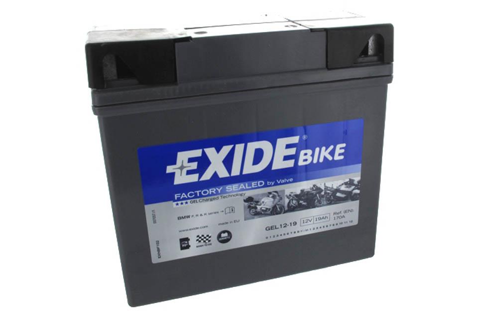 Exide Gel Battery For Bmw Motorcycle