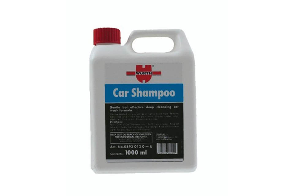 Wurth Car Bike Shampoo 7199102 7199102 Bmw Wunderlich America