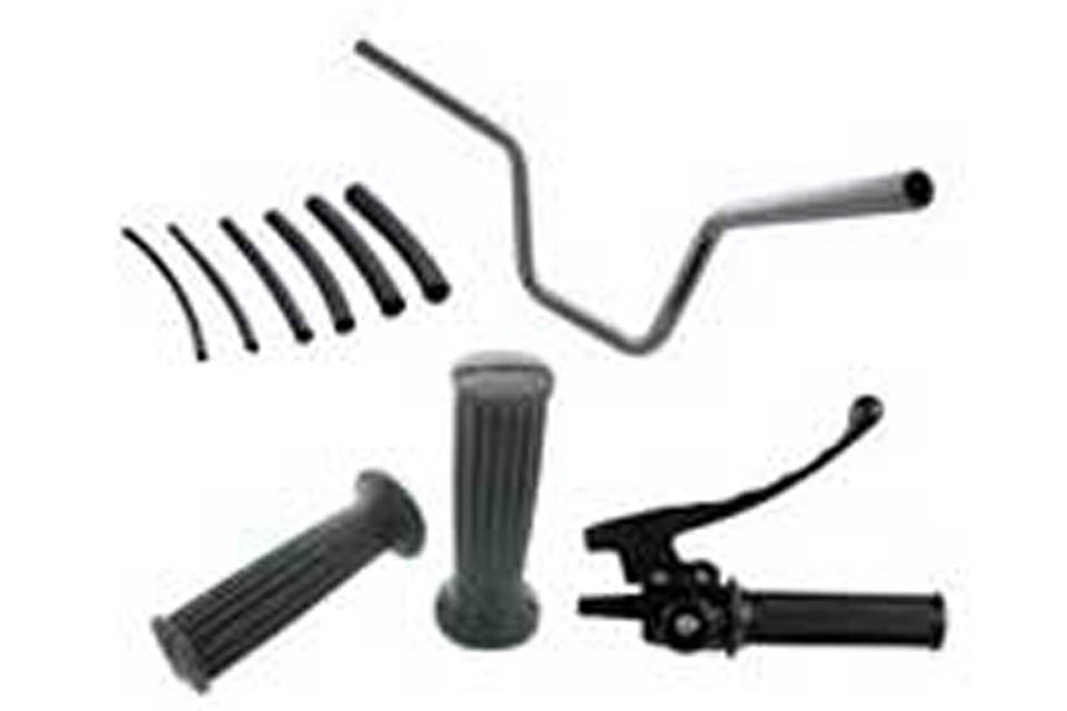 Handlebars / Grips / Controls Suspension / Steering / Drive