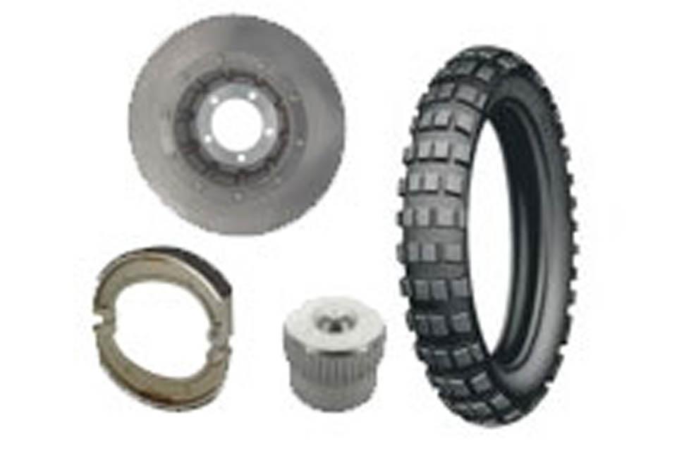 Brakes / Wheels / Tires R100 R & Mystic