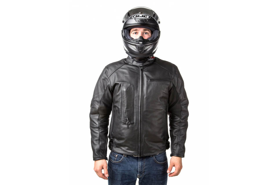 Airbag Leather Black Helite Helite Jacket3xl by7IgvmYf6