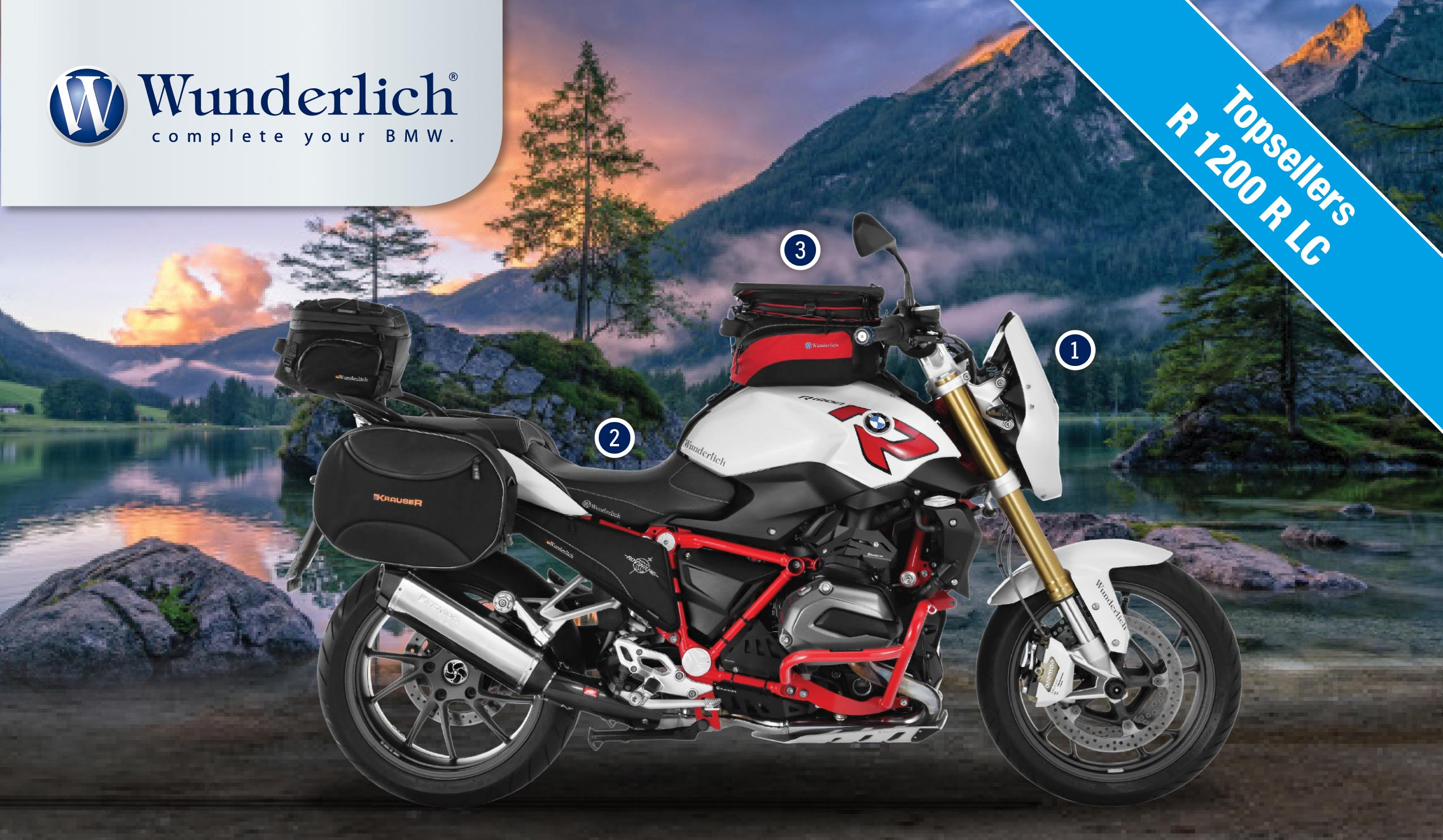 R1200 R-LC (2015 - on) Topsellers Buyer's Guide R1200 R-LC (2015 - on)