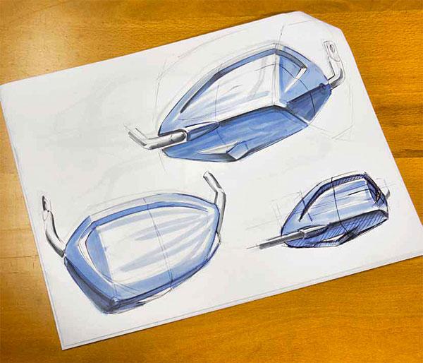 Wunderlich design sketch