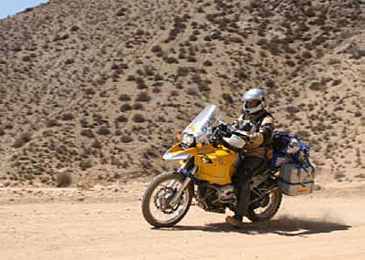 Off-roading on your GS