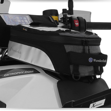 Wunderlich Tank bag TOUR Edition fitted on BMW F 800 GS