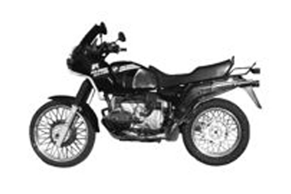 BMW R100 GS (91-95) R80 G/S AND R100 GS