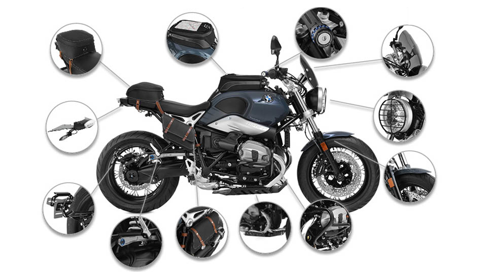 wunderlich america complete your bmw r ninet pure with. Black Bedroom Furniture Sets. Home Design Ideas