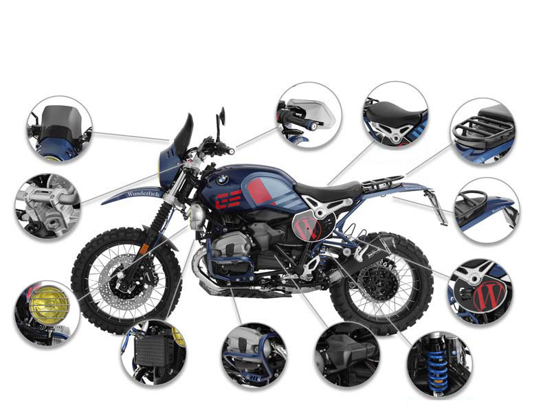 Wunderlich America: Complete Your BMW R nineT Urban G/S with